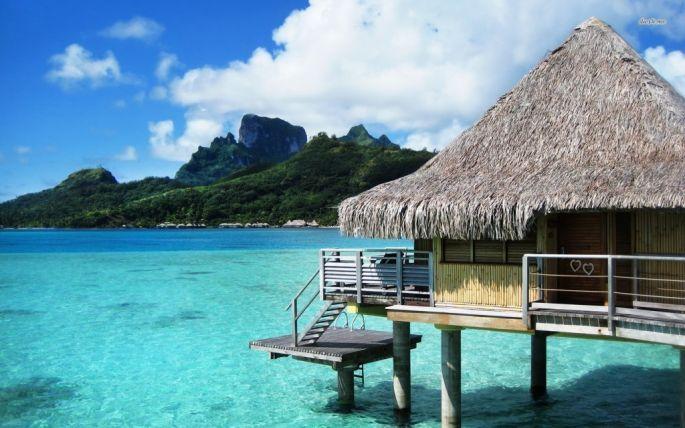 Bora Bora- Tahiti - As 20 melhores praias para lua de mel do MUNDO! 2 estão no Brasil!