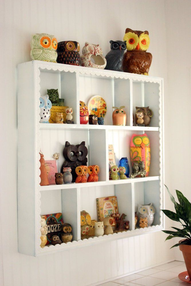 Elise's owl collection is a hoot!
