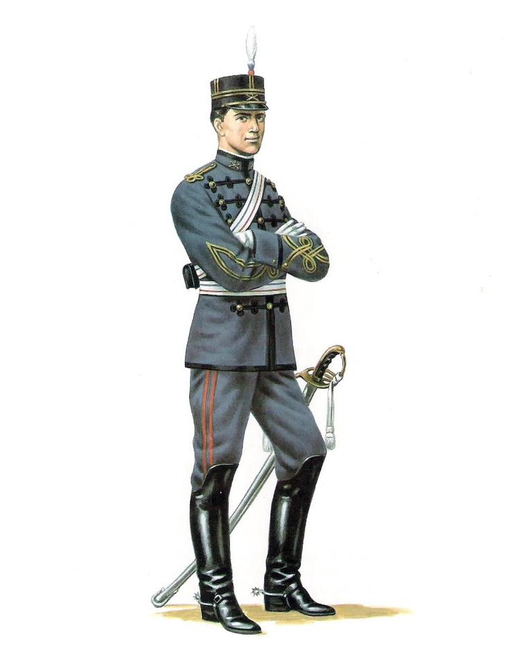 Oficial de Artilleria (1898)