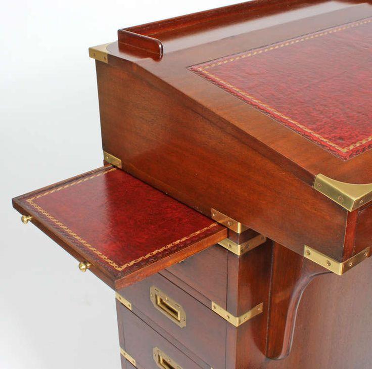 Custom For Yacht Captains Davenport Desk And Bench