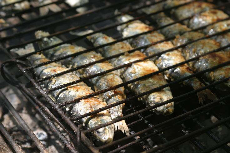 Portuguese char grilled fish has centuries of tradition.