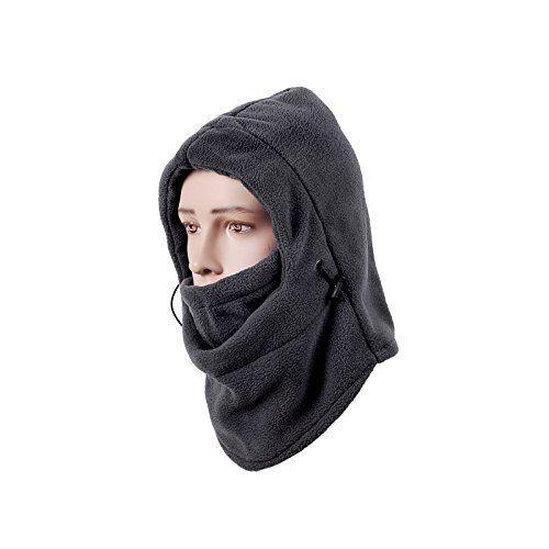 Cagoule de Ski Coupe-Vent – Masque Facial Basse-température Pour Motocyclette et Cougoule Baclava Tactique – Rétention Thermique Ultime,…