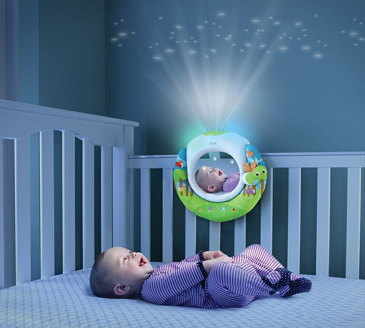 Put On A Music And Lights Show For Your Little Baby While