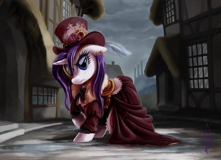 My Little Pony Friendship is Magic Steampunk Rarity