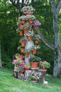 ~J     love  ... yard decorations recycling tree stumps and backyard landscaping ideas