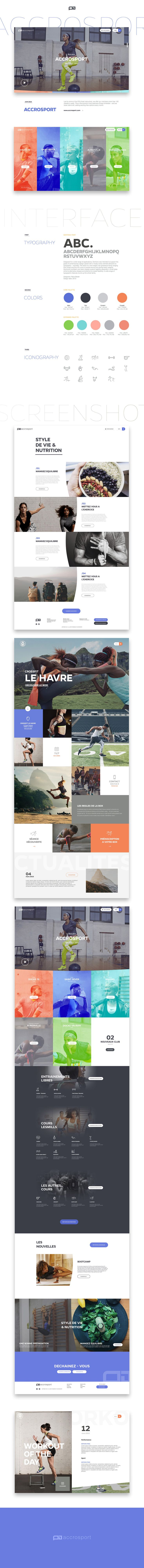 Accrosport on Behance
