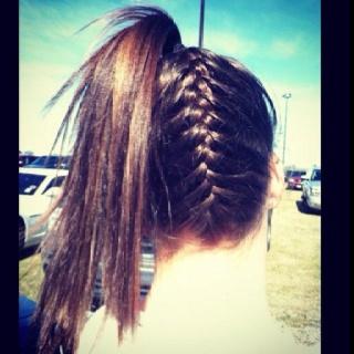 : Beaches Hair, French Braids, Wet Hair, Summer Hair, Cheer Hair, Beautiful Hair, Hair Style, Ponies Tail, Beaches Style