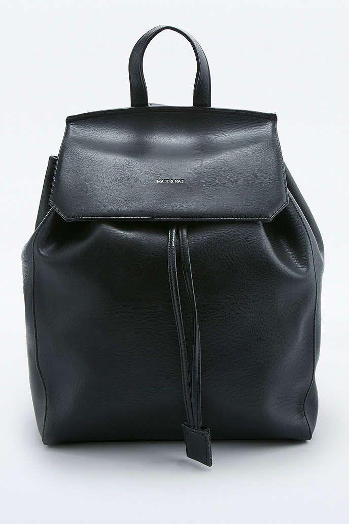 Matt & Nat Mumbai Black Backpack - Urban Outfitters