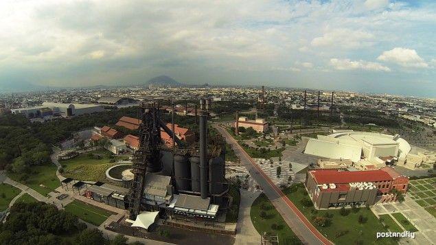 18. Parque Fundidora, Monterrey. Junto con el Cerro de la Silla, es todo un símbolo de la ciudad de #Monterrey, #NuevoLeón