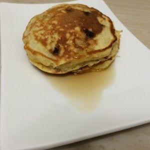 Delicious and healthy banana pancakes
