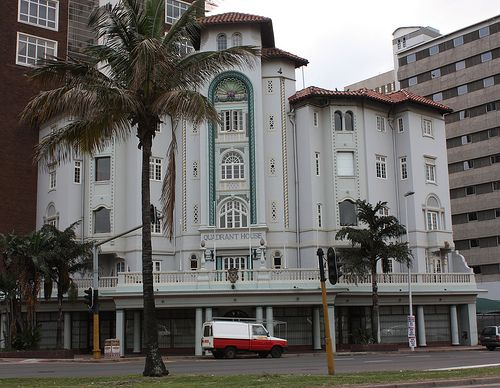 Another example of the typical Durban Architecture. Quadrant House, 114-115 Victoria Embankment, Durban