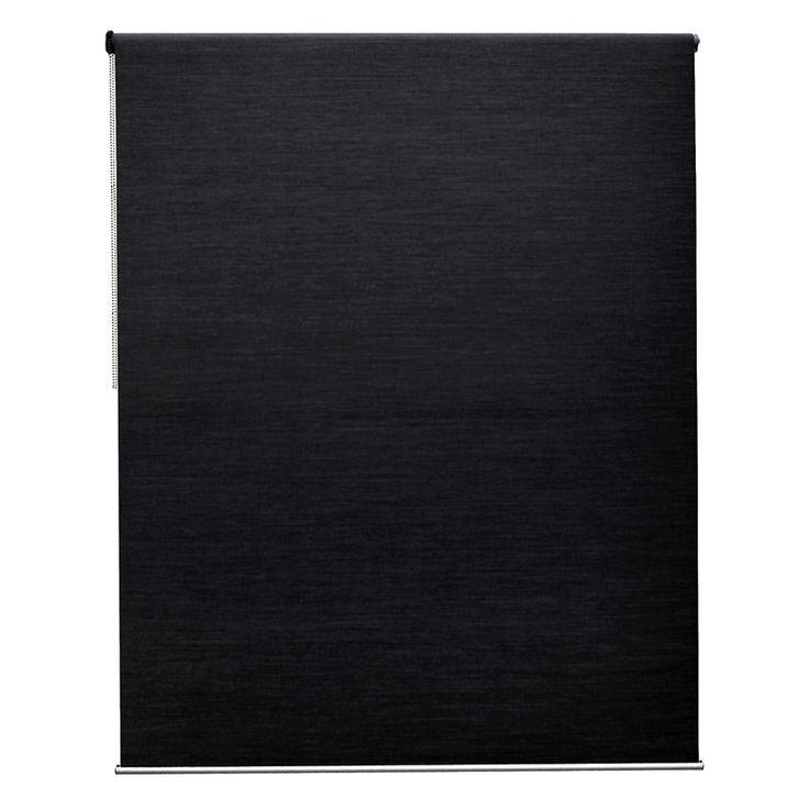 Windoware Glamour Indoor Blockout 90x210cm Roller Blind Black