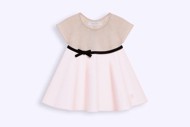 Vestido em malha de tricô algodão caxemira e tecido de algodão - Gestantes Dior