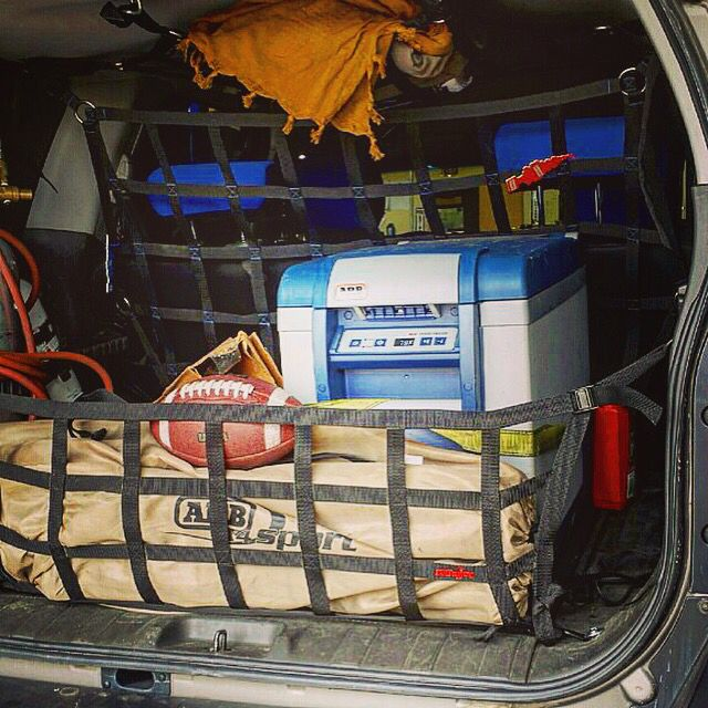#NISSTEC testing out the new #NISSAN #XTERRA tailgate net.  Putting it through it's paces on the trail next few days.  Also running the #RAINGLER #PET #BARRIER http://www.raingler.com/#!product/prd1/4239630921/xterra-tailgate-net