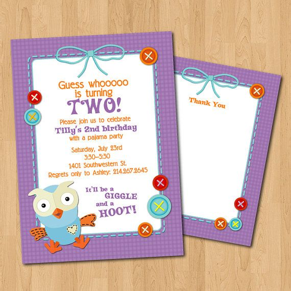 PRINTABLE Giggle & Hoot PARTY PACK  invitations by chachkedesigns, $20.00