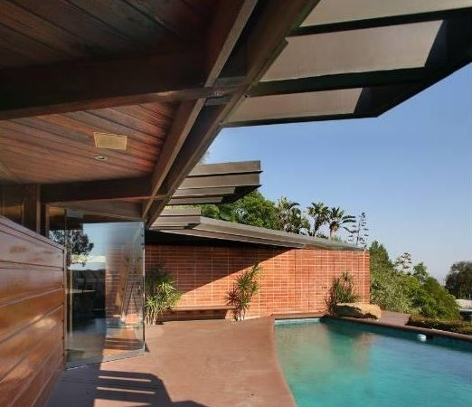 Foster Carling House | 1950 | Los Angeles, California | John Lautner