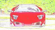 "New artwork for sale! - "" Lamborghini Murcielago Lp 670  by PixBreak Art "" - http://ift.tt/2m1mTCP"