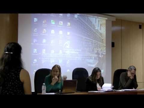 IMPORTANCE AND IMPLICATION OF RESPIRATION QUOTIENT (RQ): A BACTERIAL EXPERIMENTAL ASSAY WITH PSEUDOMONIA NÁUTICA AND VIBRIO NATRIGIENSIS. Defensa del Trabajo Fin de Título de Máster de Vanesa Romero Kutzner; tutores May Gómez Cabrera y Theodore Packard. Acto celebrado en la Sala de grado de la Facultad de Ciencias del Mar el 20 de diciembre de 2013.