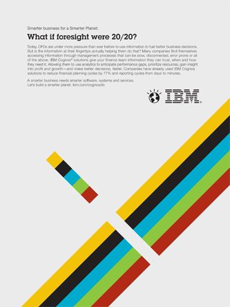 Series of illustrations for IBM's Smarter Planet campaign. This piece speaks to the ability to see problems before they happen.