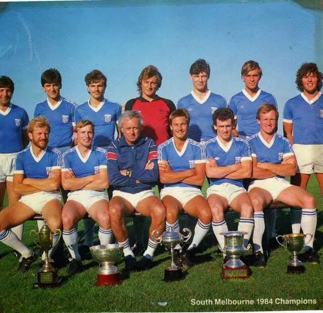 South Melbourne FC 1984 Championship Team (Photo taken most likely in pre-season 1985)
