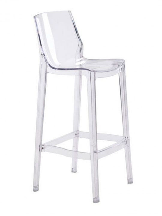 translucent furniture. Translucent Clear Barstool Furniture A