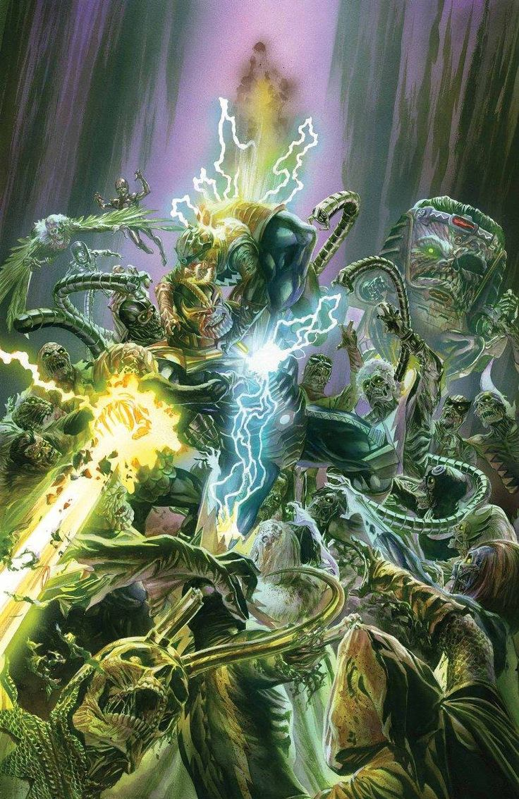Secret Wars #6 - Thanos by Alex Ross