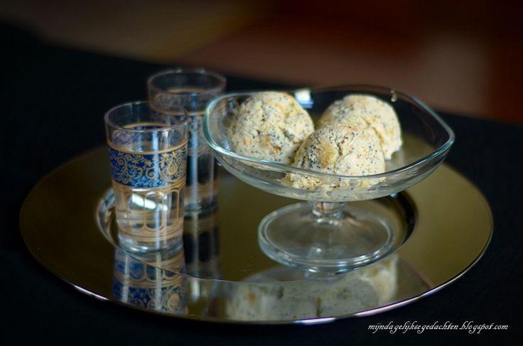 Lemon Poppyseed Cheesecake Ice Cream / Лимонно-Маковое Чизкейк Мороженое