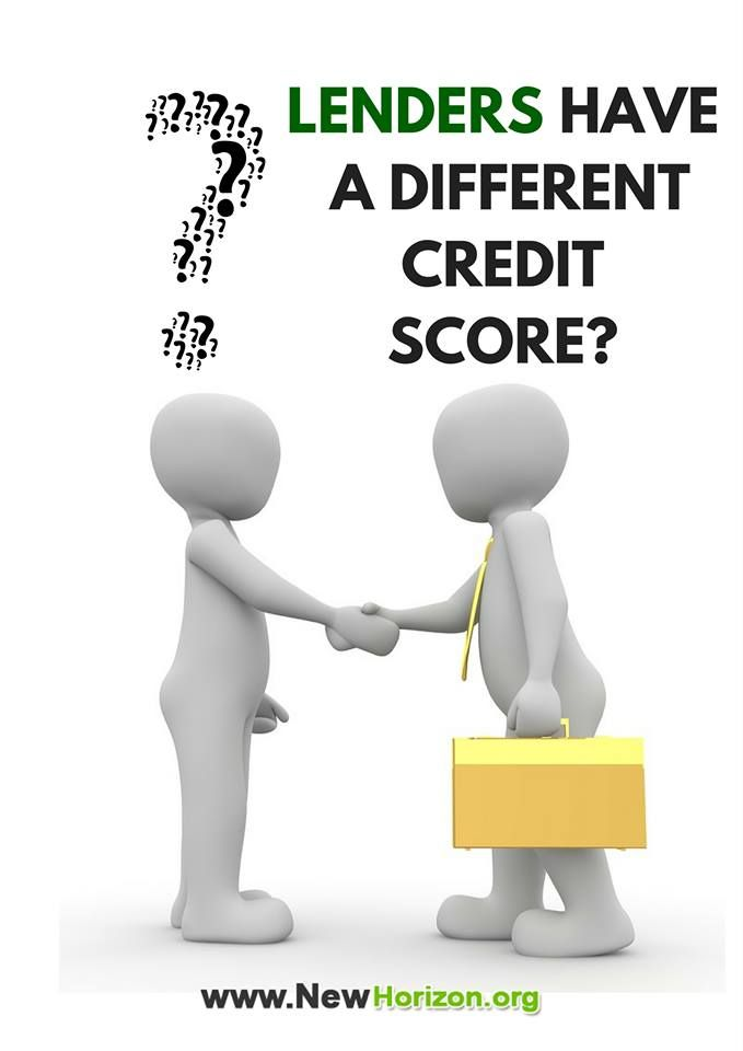 Is your credit score you got online different from what your  lenders? Find out how this happen!