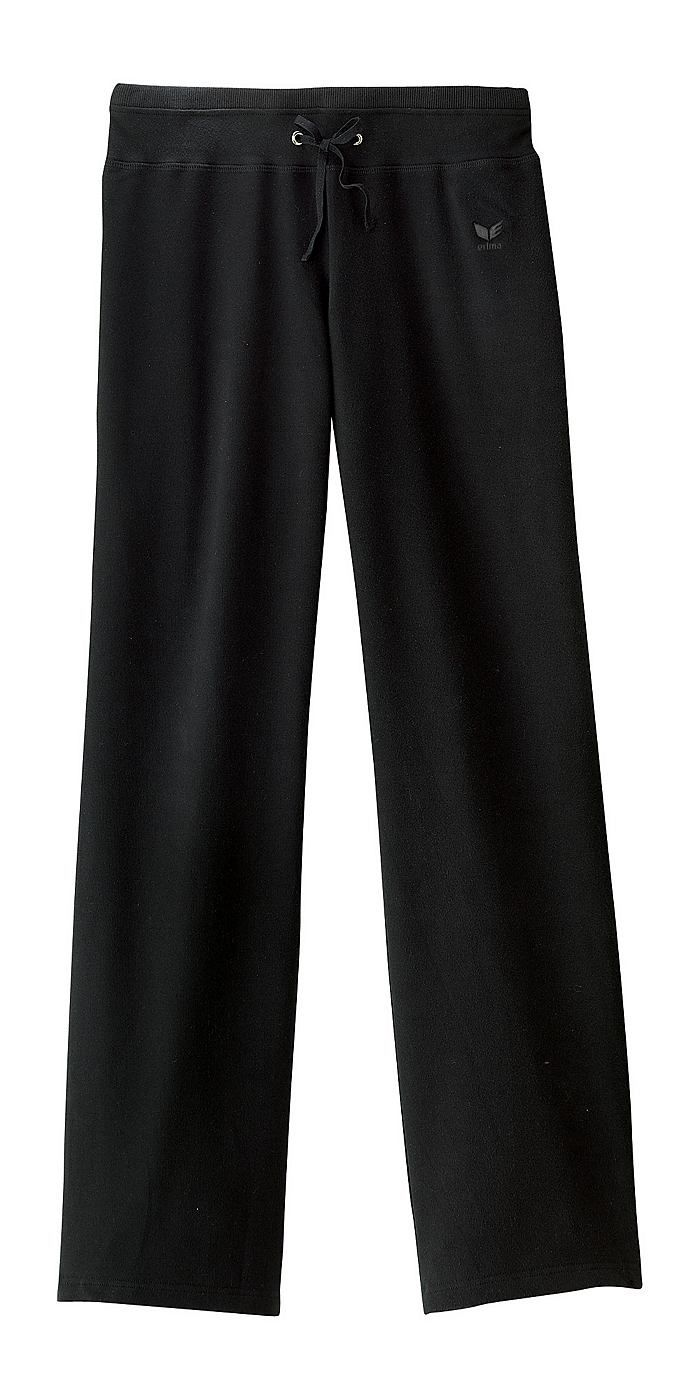 Sweathose Damen Langgröße    - Hosen sind durchschnittlich 6cm länger als die korrespondierende Normalgröße  - die Sweathose in Kurzgröße, Normalgröße oder Langgröße unterscheiden sich nur durch die Länge, nicht in der Gesamtproportion  - gerade geschnittene Hose mit tiefer Taille  - hautsympathisch  - breiter Bund mit Tunnelzug  - Ton-in-Ton Logostickerei    SKIN COMFORT - Funktion: Hautsympat...