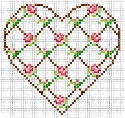 Flores e coração: