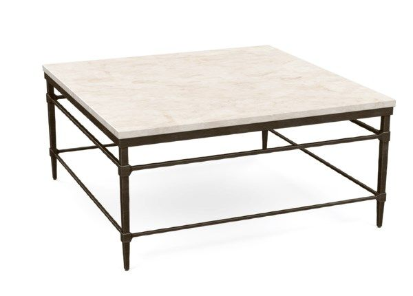 Vida Square Stone Top Coffee Table Coffee Table Stone Coffee