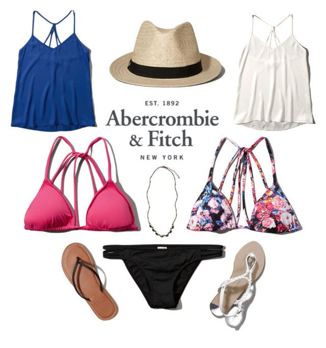 The A&F Summer Getaway Giveaway: Contest Entry by alexfreyberg on Polyvore featuring polyvore, fashion, style, Abercrombie & Fitch and clothing