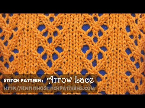 Arrow Lace #1 - YouTube