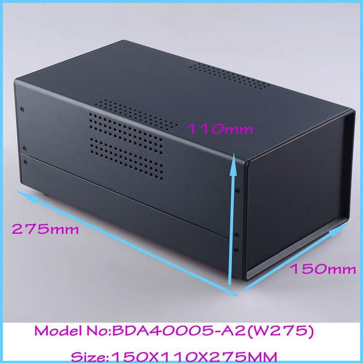 (1pcs)150x110x275mm steel iron electronic enclosure instrument case guitar pedal box steel electronic satfinder project box #Affiliate