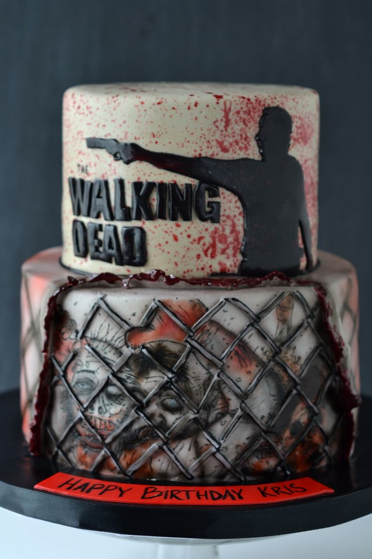 walking dead cake - Google Search                                                                                                                                                      More