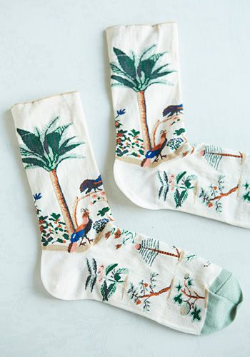 Bonne Maison socks... These are just too cute even though no one would really see them
