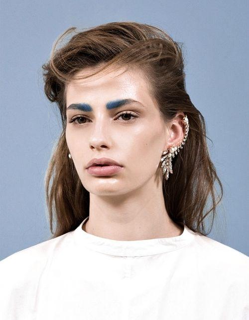 #avantgarde #highfashion #graphic #makeup #makeups #hair #2014 @blackswanballet