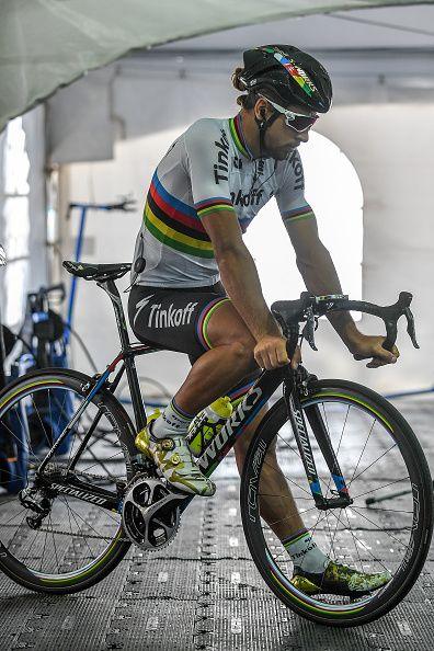 Grand Prix Cycliste de Quebec 2016 Training Peter SAGAN Grand Prix Quebec / Tim De Waele /Corbis via Getty Images