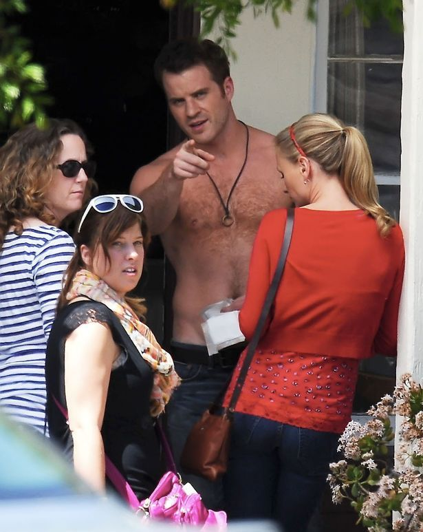 Rob Kazinsky True Blood | Robert Kazinsky filming 'True Blood'