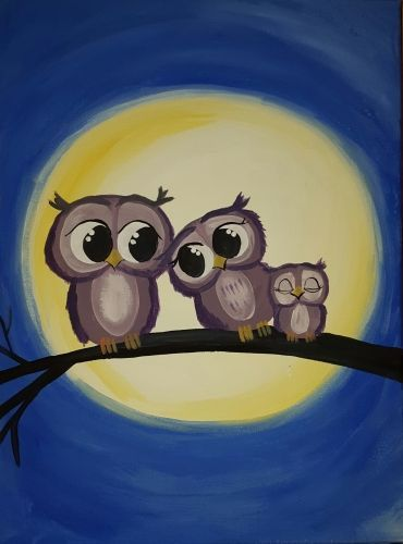 Owl Eyes on You at Boston Pizza Bowmanville - Paint Nite Events