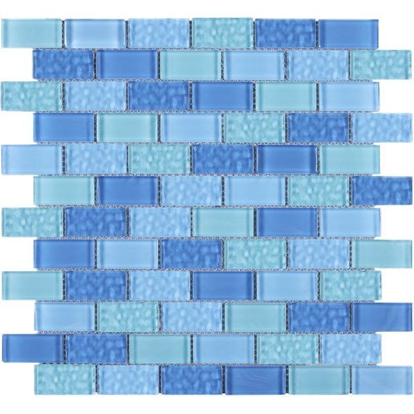 Cockles 1 X 2 Glass Mosaic Tile With Images Mosaic Tile Sheets