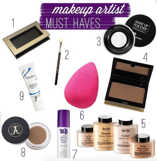 makeup artist freelance kit must haves via Wake Up For Makeup