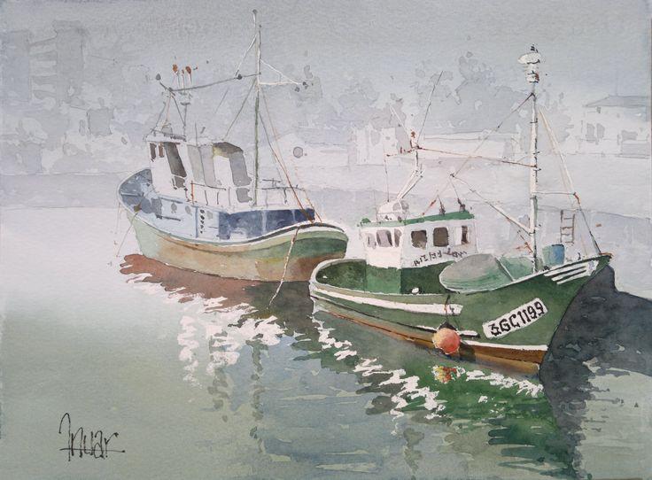 Barco verde