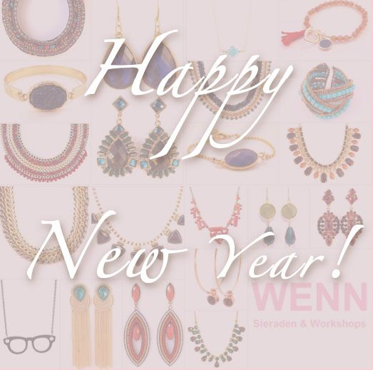 Happy New Year!! Begin het jaar goed en shop vandaag met 15% korting!! Gebruik de kortingscode HAPPY2014