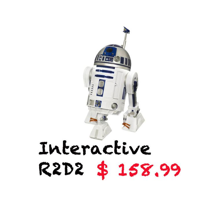 Add a new buddy to your life! Cool for kids and grown ups ;) http://r2d2gadgets.com/interactive-r2d2/ #r2d2 #interactive #starwars #star wars #toys