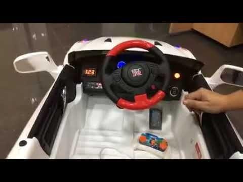 NISAN GTR 12V con RC - Coches para niños en indalchess.com