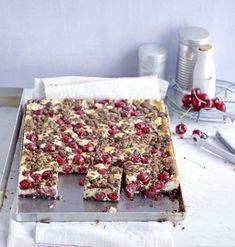 Schokoladen-Kirsch-Streuselkuchen Rezept - [ESSEN UND TRINKEN]