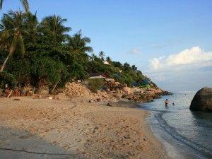 Beach in Chumpon Thailand