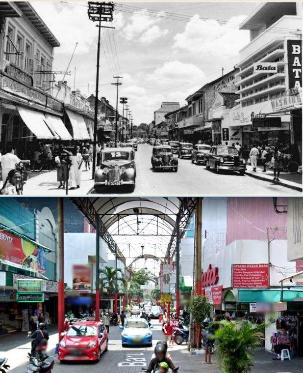 Pasar Baru, Jakarta, 1954 dan 2015