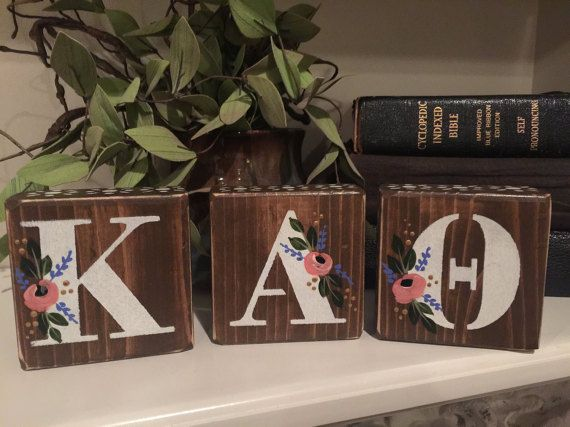 Sorority Gifts|Greek Letters|Sorority Decor|Sorority Letters|Hand Painted|Theta